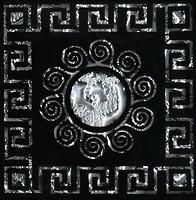 Фото Grand Kerama вставка Tako Византия платина 6.6x6.6