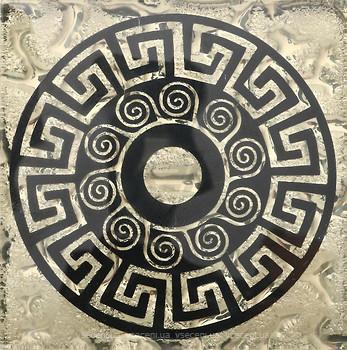 Фото Grand Kerama вставка Tako Греция золото 6.6x6.6