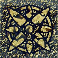 Фото Grand Kerama вставка Tako Звезда золото 6.6x6.6