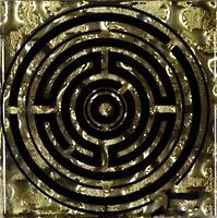 Фото Grand Kerama вставка Tako Лабиринт золото 6.6x6.6