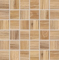 Фото Rako мозаика Faro светло-коричневая 29.8x29.8 Куб 4.8x4.8 (DDM06717)