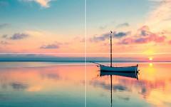 Фото Kerama Marazzi декор-панно Аверно Закат 50x80 (HGD\A15\4x\6000) (комплект 4 шт)