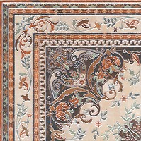 Фото Kerama Marazzi декор Мраморный дворец Ковер лаппатированный 40.2x40.2 (HGD\A174\SG1550L)