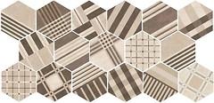 Фото Equipe Ceramicas плитка Hexatile Geo Sand 17.5x20