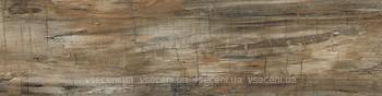 Фото Inter Cerama плитка напольная Corvette темно-коричневая 15x60 (1560150032)
