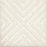Фото Kerama Marazzi вставка Амальфи Орнамент белая 9.9x9.9 (STG\B403\1266)