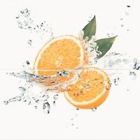Фото Opoczno декор-панно Water Sparkles Orange 59.4x60 (комплект 2 шт)