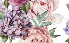 Фото Golden Tile декор Gortenzia Flowers 2 25x40 (72Б321)