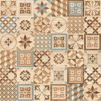 Фото Golden Tile плитка напольная Country Wood микс 30x30 (2ВБ730)