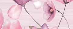 Фото Golden Tile декор Flora розовый 20x50 (1В5321)
