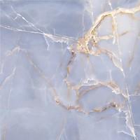 Фото Golden Tile плитка напольная Terragres Onyx голубая 60.7x60.7 (7А3510)