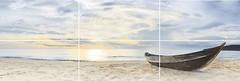 Фото Golden Tile декор-панно Crema Marfil Sunrise 60x180 (GT008P) (комплект 6 шт)