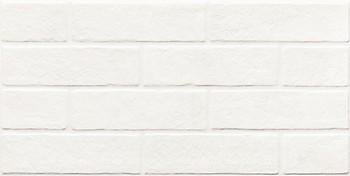 Фото Zeus Ceramica плитка напольная Brickstone Total White 30x60 (ZNXBS0)