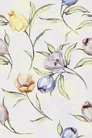 Фото Kerama Marazzi плитка настенная Маронти Цветы 20x30 (8253)