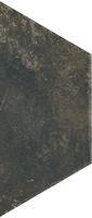 Фото Ceramika Paradyz плитка напольная Scandiano Trapez Brown 12.6x29.6