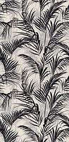 Фото Kerama Marazzi плитка настенная Тропикаль Листья черная 30x60 (11134R)