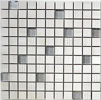Фото Котто Кераміка мозаика CM 3043 C2 Cream/Silver 30x30