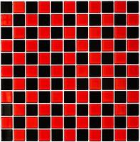 Фото Котто Кераміка мозаика GM 4003 CC Red M/Black 30x30