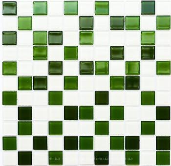 Фото Котто Кераміка мозаика GM 4030 C3 Green D/Green M/White 30x30