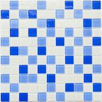 Фото Котто Кераміка мозаика GM 4040 C3 Cobalt M/Cobalt W/White 30x30