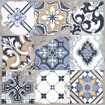 Фото Golden Tile декор Terragres Limestone Vintage 1 60x60 (23Б540)