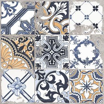 Фото Golden Tile декор Terragres Limestone Vintage 2 60x60 (23Б560)