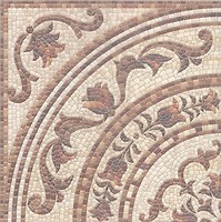 Фото Kerama Marazzi декор Пантеон Ковер угол лаппатированый 40.2x40.2 (HGD\A235\SG1544L)