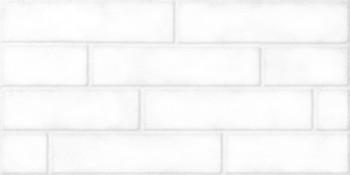 Фото Belani плитка настенная Брик белая 30x60