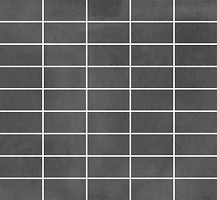 Фото Stargres мозаика Town Prostokaty Antracite 25x25