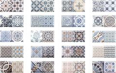 Фото Monopole Ceramica плитка настенная Antique Sky 10x20