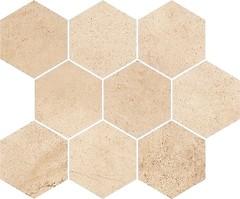 Фото Opoczno мозаика Sahara Desert Hexagon 28x33.7