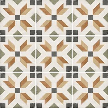 Фото Equipe Ceramicas декор Art Nouveau Empire Colour 20x20