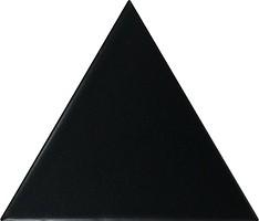 Фото Equipe Ceramicas плитка настенная Scale Triangolo Black Matt 10.8x12.4