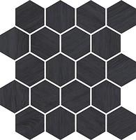 Фото Ceramika Paradyz мозаика Taiga Mozaika Wood Grafit 25.8x28