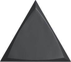 Фото ZYX плитка настенная Evoke Channel Black Matt 15x17