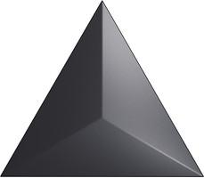 Фото ZYX плитка настенная Evoke Level Black Matt 15x17