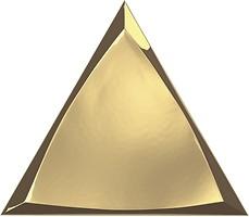 Фото ZYX плитка настенная Evoke Channel Gold Glossy 15x17