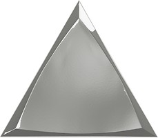 Фото ZYX плитка настенная Evoke Channel Silver Glossy 15x17