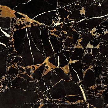 Фото Golden Tile плитка напольная Saint Laurent черная 60.7x60.7 (9АС510)
