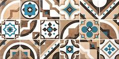 Фото Керамин декор Дюна панно 2 тип 2 30x60