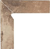 Фото Ceramika Paradyz цоколь Scandiano Ochra 8.1x30 левый