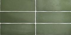 Фото Equipe Ceramicas плитка настенная Magma Malachite 6.5x20