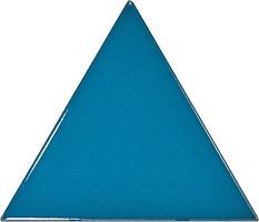 Фото Equipe Ceramicas плитка настенная Scale Triangolo Electric Blue 10.8x12.4