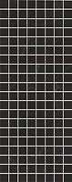Фото Kerama Marazzi декор Алькала мозаичный черный 20x50 (MM7204)
