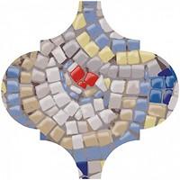 Фото Kerama Marazzi декор Арабески Майолика Гауди 6.5x6.5 (OP\A169\65000)
