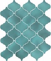 Фото Kerama Marazzi плитка настенная Арабески Майолика бирюза 26x30 (65006)