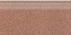 Фото Cersanit ступень Milton Steptreard Brown 29.8x59.8