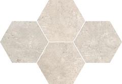 Фото Stargres мозаика Grey Wind Mosaic Heksagon Mild 28.3x40.8