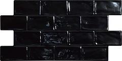 Фото El Molino плитка настенная Space Jet Negro 33.3x66.6