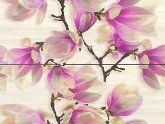 Фото Ceramika Color декор-панно Sensa Dekor Magnolia 50x60 (комплект 2 шт)